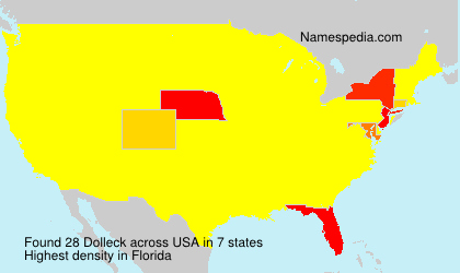 Surname Dolleck in USA