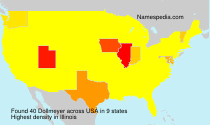 Surname Dollmeyer in USA