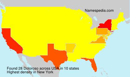 Surname Doloroso in USA