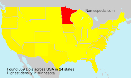 Surname Dols in USA