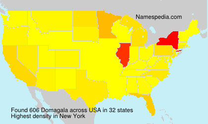 Surname Domagala in USA