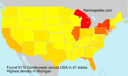 Surname Dombrowski in USA