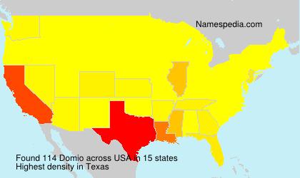 Surname Domio in USA