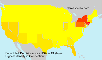 Surname Domizio in USA