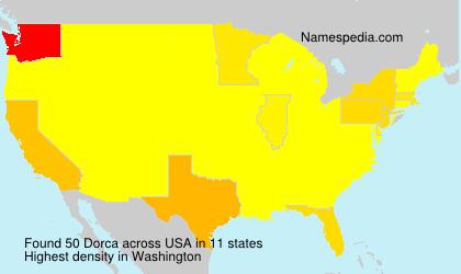 Surname Dorca in USA