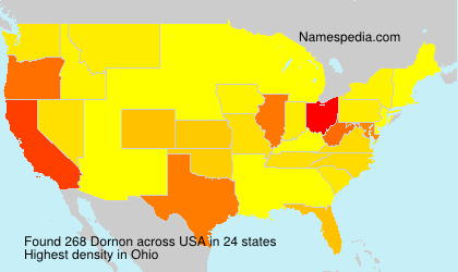 Surname Dornon in USA