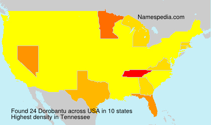 Surname Dorobantu in USA