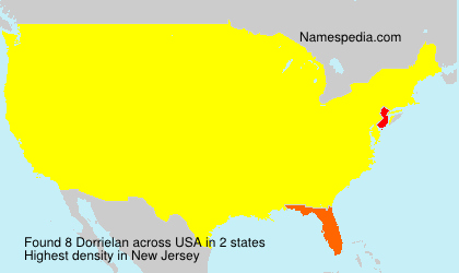 Surname Dorrielan in USA