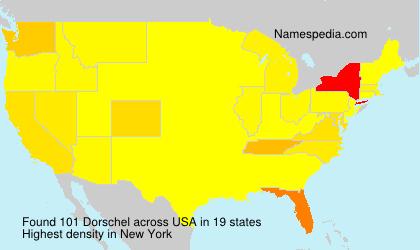 Surname Dorschel in USA