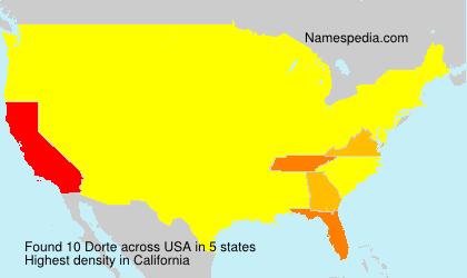 Dorte - USA