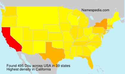 Surname Dou in USA
