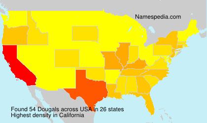 Familiennamen Dougals - USA