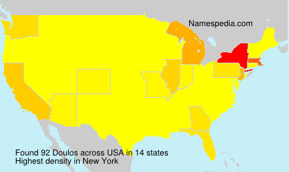 Surname Doulos in USA