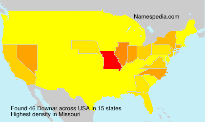 Surname Downar in USA