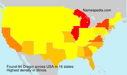 Surname Dragoi in USA