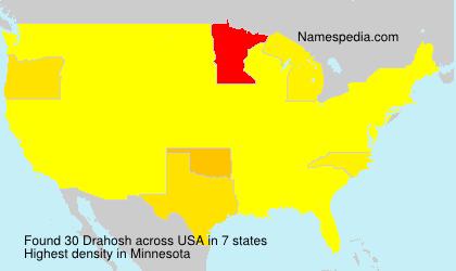 Surname Drahosh in USA