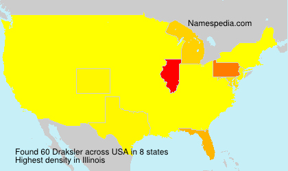 Surname Draksler in USA