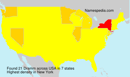 Surname Dramm in USA