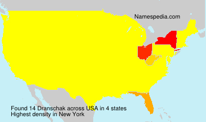 Surname Dranschak in USA