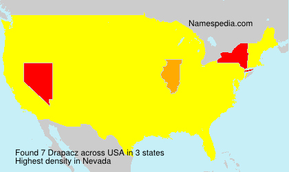 Surname Drapacz in USA