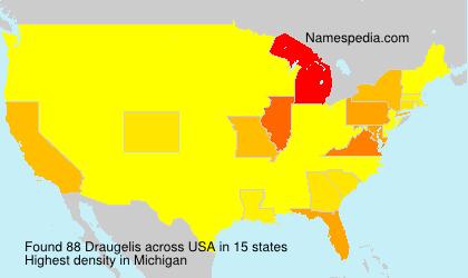 Familiennamen Draugelis - USA