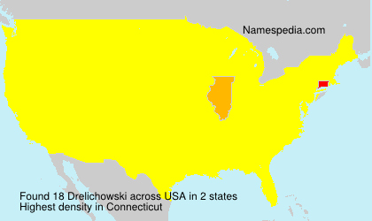 Surname Drelichowski in USA