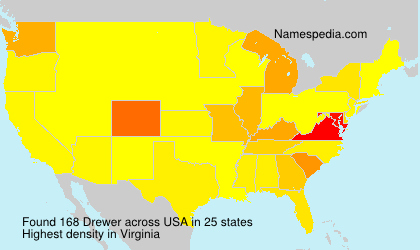 Surname Drewer in USA