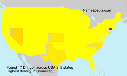 Surname Dringoli in USA