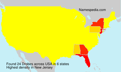 Surname Drobes in USA