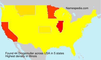 Surname Drogemuller in USA