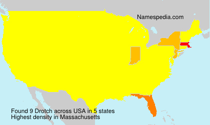Surname Drotch in USA
