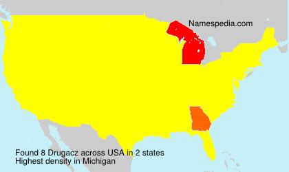 Surname Drugacz in USA