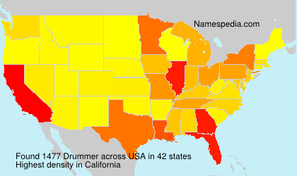 Surname Drummer in USA
