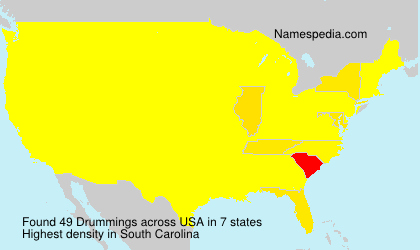 Surname Drummings in USA