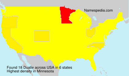 Surname Dualle in USA