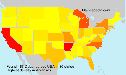 Surname Dubar in USA