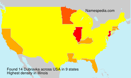 Surname Dubravka in USA