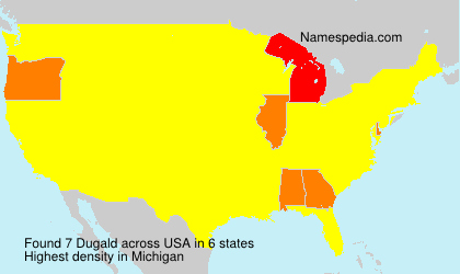 Surname Dugald in USA