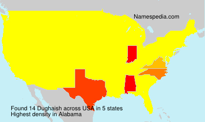 Surname Dughaish in USA
