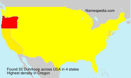 Duhrkoop - USA