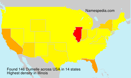 Surname Dumelle in USA