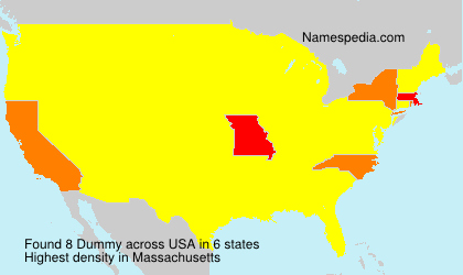 Surname Dummy in USA