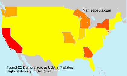 Surname Dumpis in USA