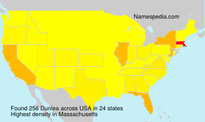 Surname Dunlea in USA