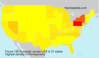 Familiennamen Dunseath - USA