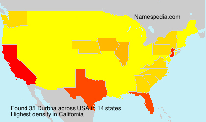 Surname Durbha in USA