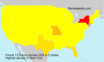 Surname Durmo in USA