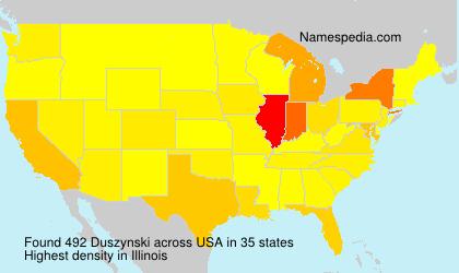 Surname Duszynski in USA