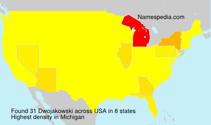 Surname Dwojakowski in USA