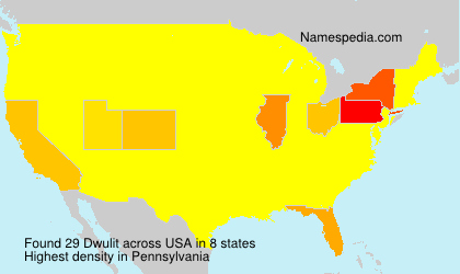 Surname Dwulit in USA